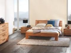 Bettgestell aus Holz, Serie Woodline